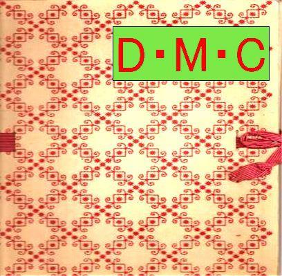 DMC刺繍 図案/DMCクロスステッチ 図案