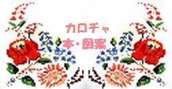 カロチャ刺繍 図案/カロチャ