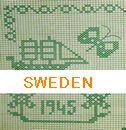 スウェーデン刺繍・図案・本・クロスステッチ